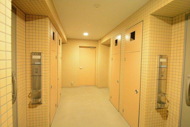 カーサフェリス松濤 内廊下