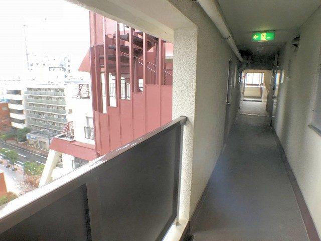 ピロティ五反田 外廊下