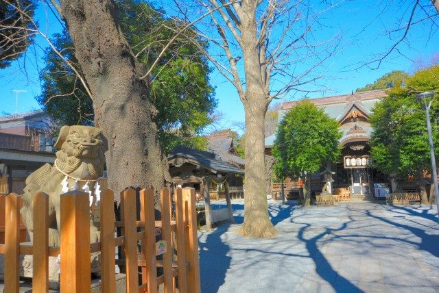 御嶽山駅周辺