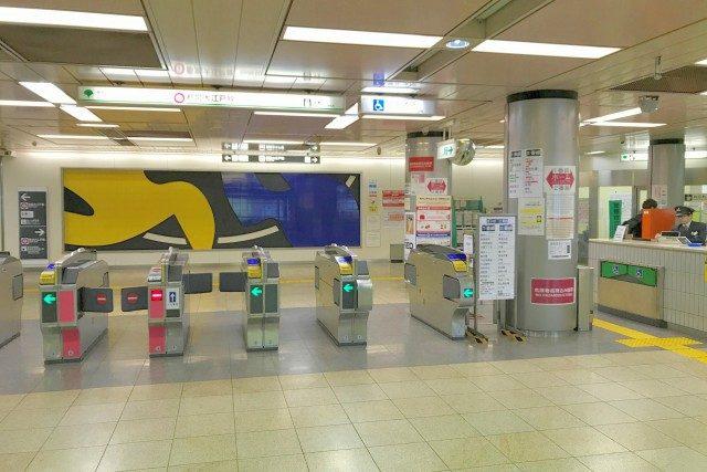 大江戸線 両国駅