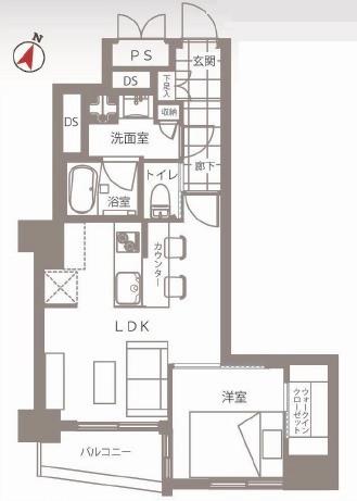 シャトレー幡ヶ谷 図面
