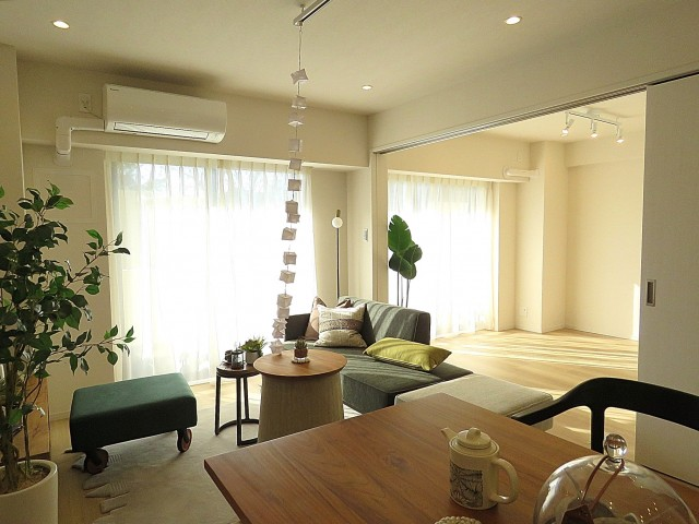 ライオンズガーデン幡ヶ谷 LDK+洋室