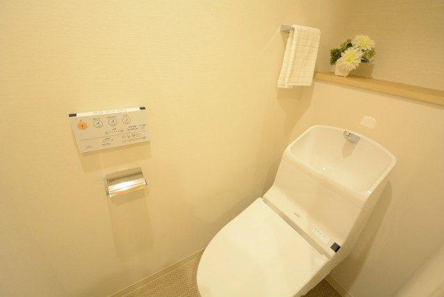 ライオンズガーデン幡ヶ谷 トイレ