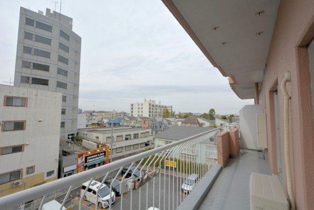 グリーンマンション駒沢 バルコニー