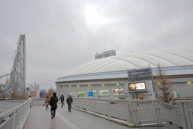 後楽園駅周辺 東京ドーム