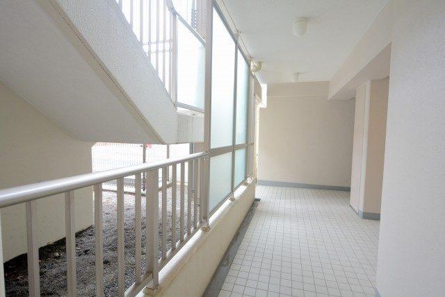 サンウッド新宿戸山フラッツ 外廊下