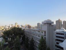 グリーンヒル新宿 LDK眺望右