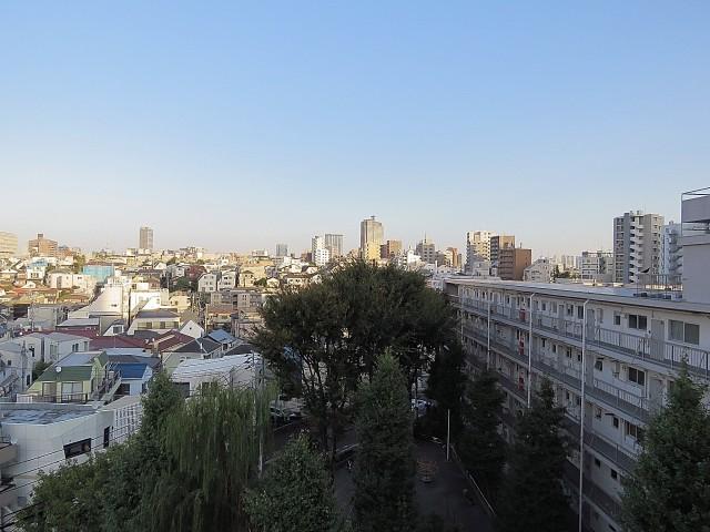 グリーンヒル新宿 LDK眺望中央