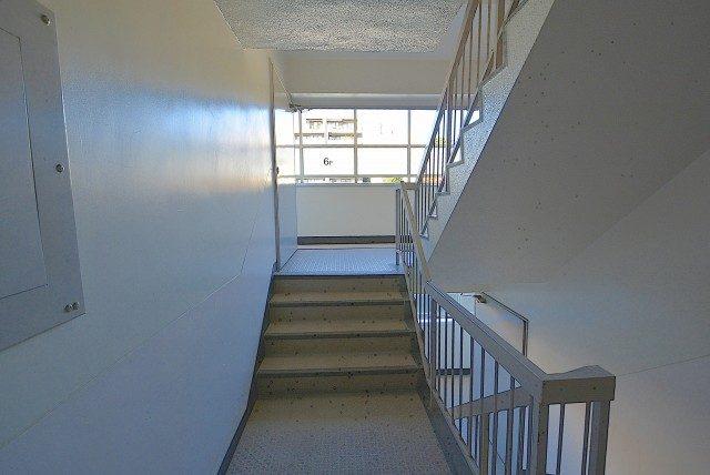 目白台コーポ 外廊下