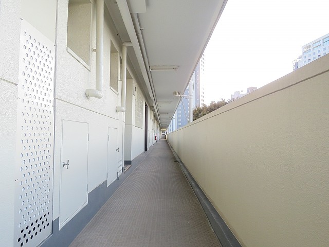 グリーンヒル新宿 共用廊下
