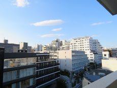 グリーンヒル新宿 共用廊下眺望
