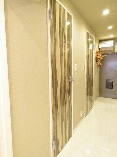 グリーンヒル新宿 トイレ扉