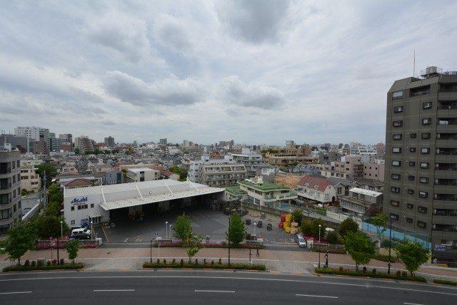 中野坂上マンション バルコニー