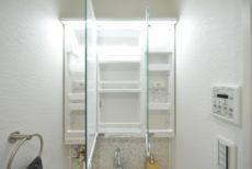中野坂上マンション 洗面室