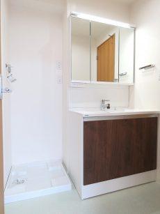 プチモンド目白 洗濯機置場と洗面化粧台