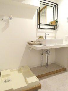 マンション駒場 洗面室