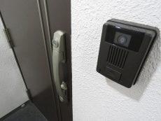 玉川台スカイマンション TVモニター付きインターホン