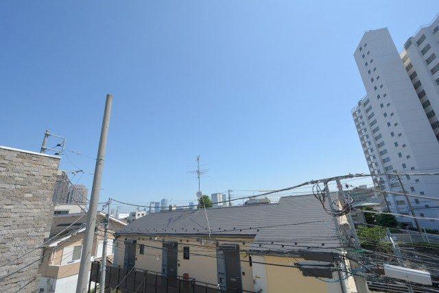 中銀目黒駅前マンシオン バルコニー