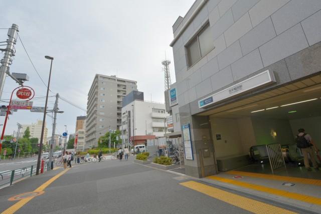 西早稲田周辺