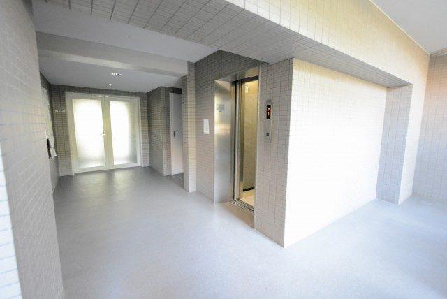 多摩川南パークハウス (17)外廊下
