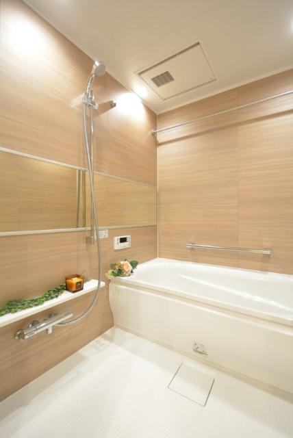 マンション都立大 浴室