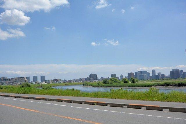 矢口渡周辺 多摩川沿い