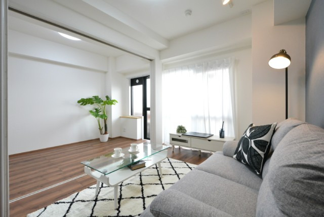 クレベール西新宿 LDK、洋室1、洋室2