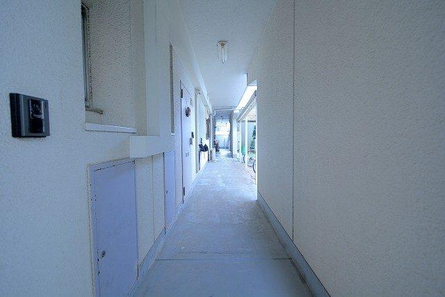 ライオンズマンション桜新町 外廊下