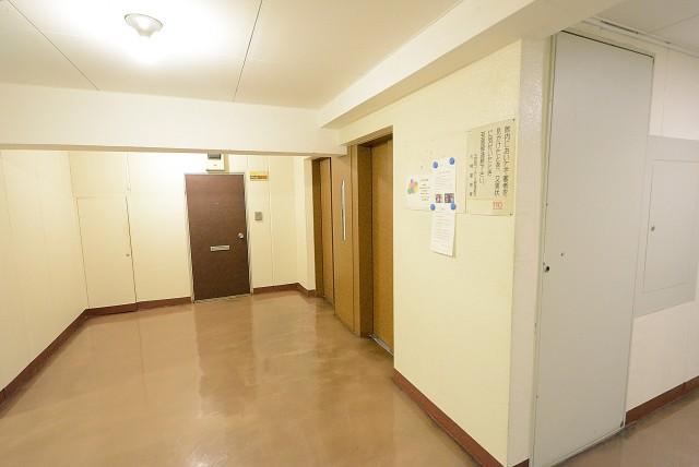 NK五反田コータース 内廊下