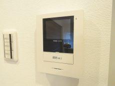コーポ洗足 TVモニター付きインターホン