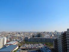 多摩川芙蓉ハイツ 共用廊下眺望