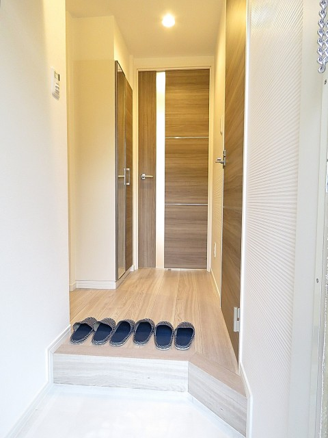 コーポ洗足 廊下