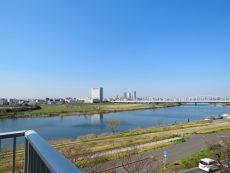 多摩川芙蓉ハイツ 北西眺望