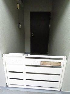 ライオンズマンション大森 ポーチ付き玄関