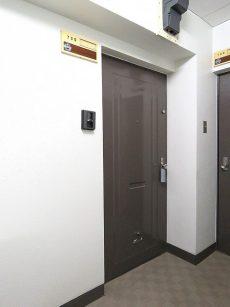 シャトレー五反田 玄関扉