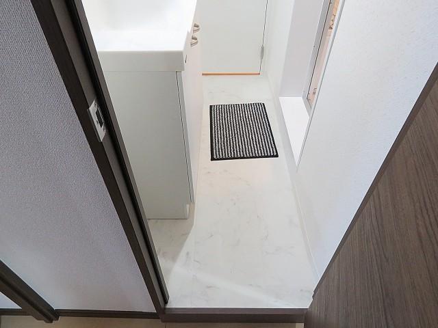 烏山南住宅 洗面室