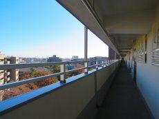 烏山南住宅 共用廊下