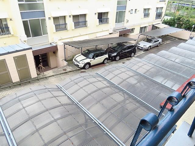 瀬田サンケイハウス 駐車場