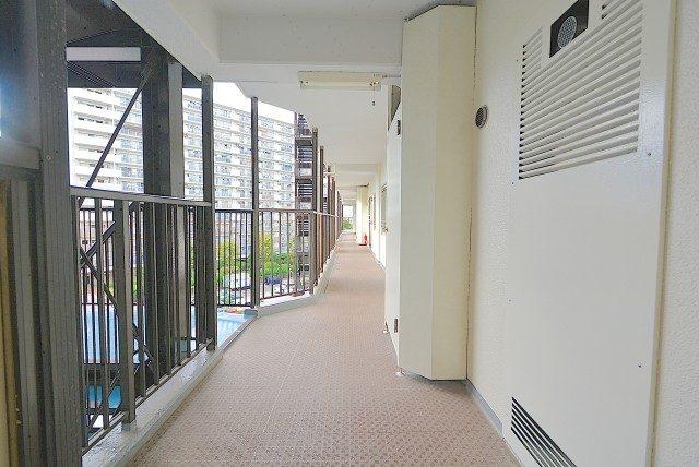 日商岩井亀戸マンション 外廊下