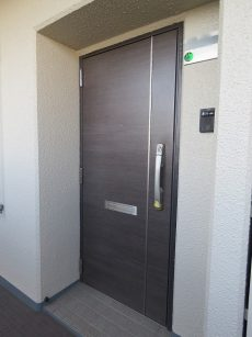 多摩川芙蓉ハイツ 玄関ドア