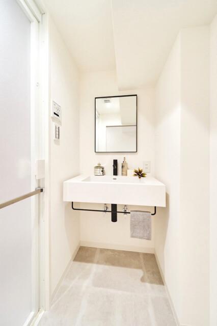四谷コーエイマンション 洗面室
