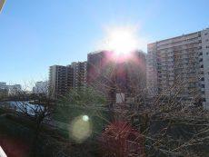 ファミリータウン東陽 南側バルコニー眺望