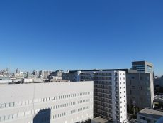ファミリータウン東陽 共用廊下眺望