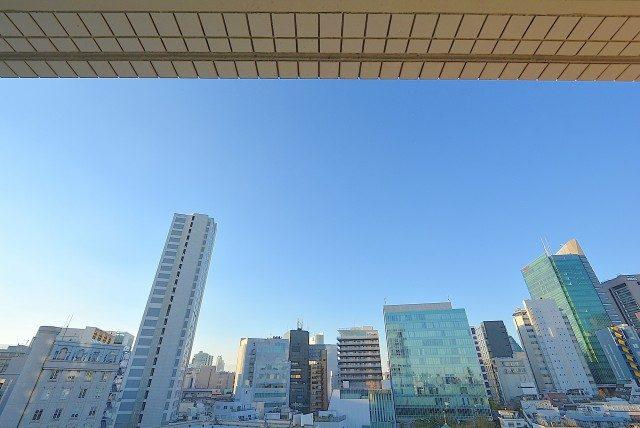青山ザ・タワー バルコニー