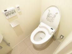 マンション雅叙苑 トイレあいた