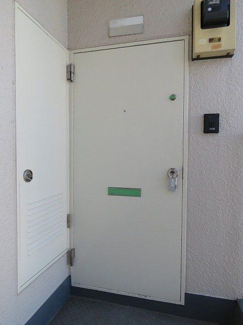 ライオンズマンション上野毛 玄関扉