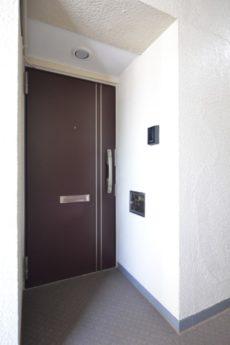 山王スカイマンション 玄関