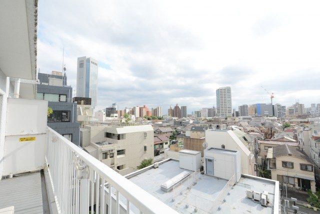西新宿ハウス バルコニー