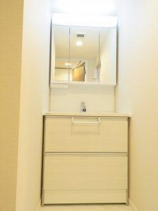 深沢コーポラス 洗面化粧台
