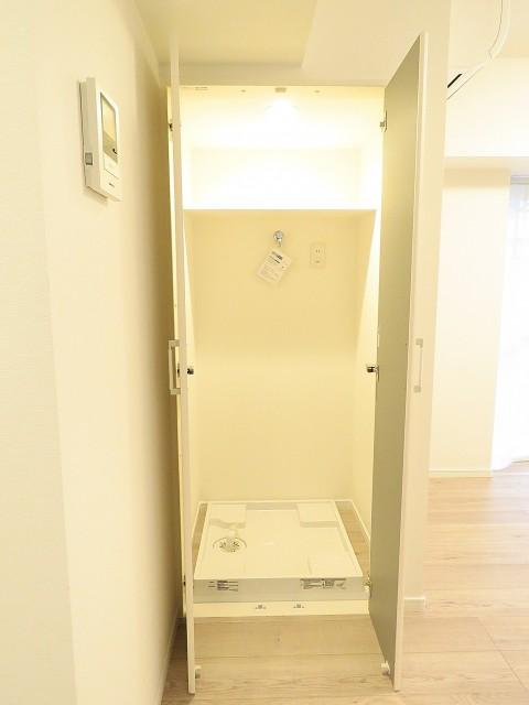 新中野マンション 洗濯機置場